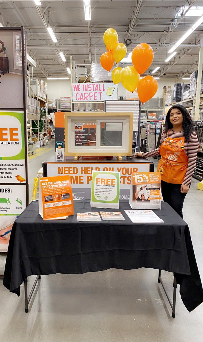 Patty Samaniego On Twitter Come To The Huntington Park Home Depot And Learn More About Our Carpet Installation Services Come See Mayra For Our Free Install Details Sit Back Relax And Let