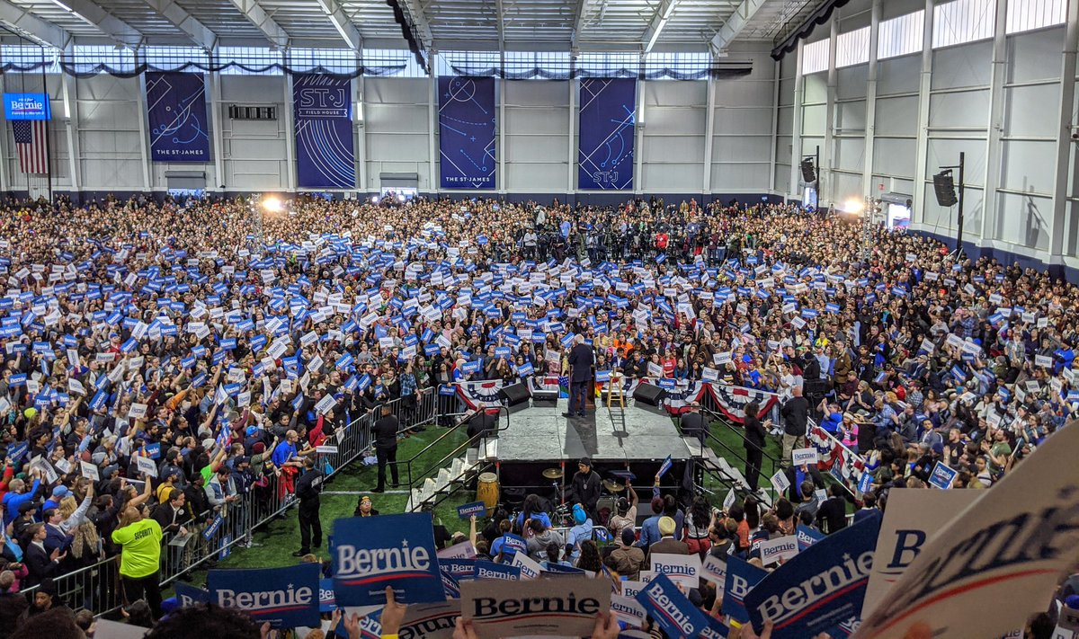 .@BernieSanders and over 10,300 in Northern Virginia who are fighting for fundamental change in America. https://t.co/GdP5zLfzzd