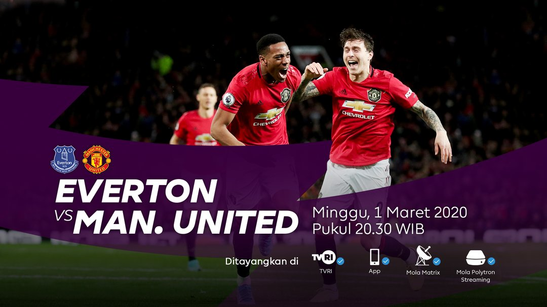 United Indonesia Bali On Twitter Matchday Epl Everton Vs Man United Goodison Park K O 22 00 Wita Live Di Tvrinasional