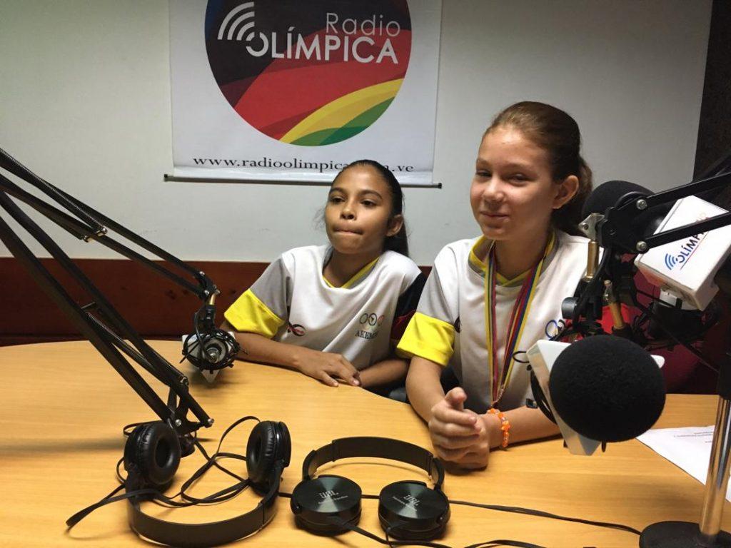 Anni Ramos y Fabiana Torres son dos campeonas infantiles de kumite y su máximo ídolo es Andrés Madera https://bit.ly/2PqrjnSpic.twitter.com/2egeM9nIN0