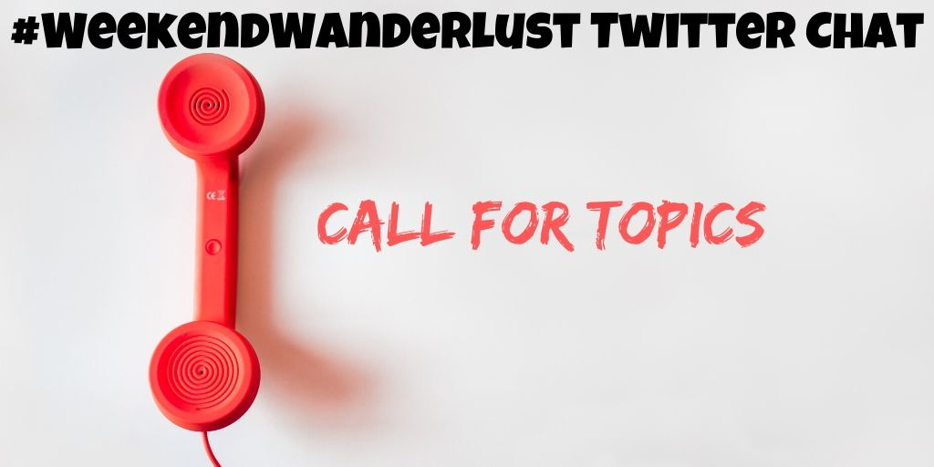 Want to call the shots?  Send us a tweet or DM us anytime with suggestions for #WeekendWanderlust chat topics! <br>http://pic.twitter.com/nCQ2J1vwXu