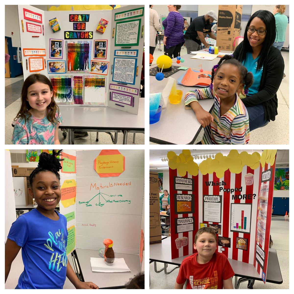Wow! Our @Thalia_Ele Eagles blew me away tonight being scientists. What a great 1st annual Science Expo @thaliapta