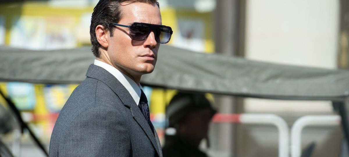 I think we can all agree that Henry Cavill in MAN FROM U.N.C.L.E.