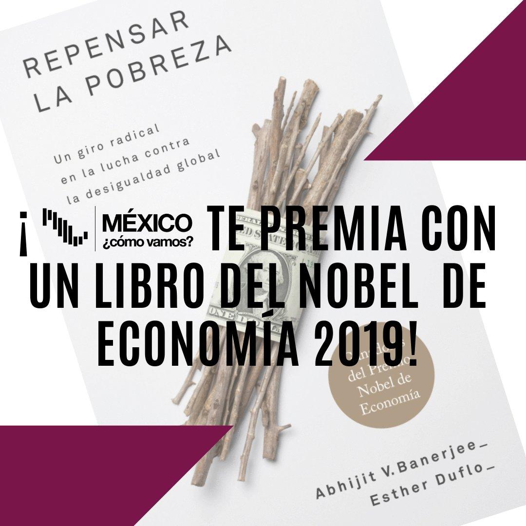 ⭐️⭐️⭐️Giveaway⭐️⭐️⭐️¿Ya participaste? ¡Corre a Instagram y gánate un libro del Nobel de economía 2019!🤓📖Es muy fácil👇🏻http://instagram.com/mexicocomovamo…