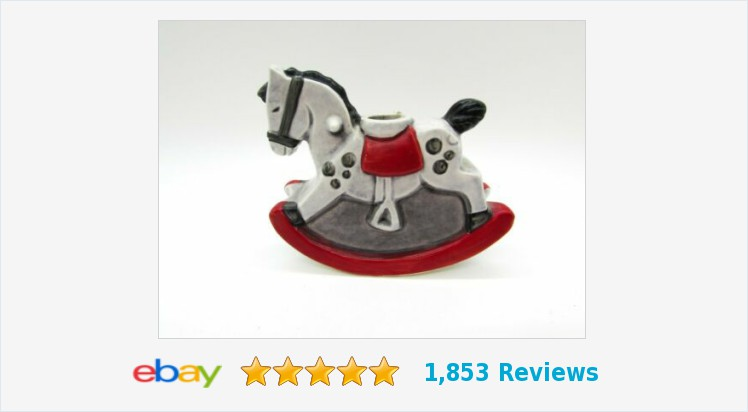 Vintage 1975 Goebel Germany Rocking Horse Candle Holder Christmas #eBay #vintage #gotvintage #Goebel #rockinghorse #candleholder #collectible #horse #Christmasdecor  https://www.ebay.com/itm/324030513018 … (Tweeted via http://PromotePictures.com )pic.twitter.com/gfFyyq4Rai