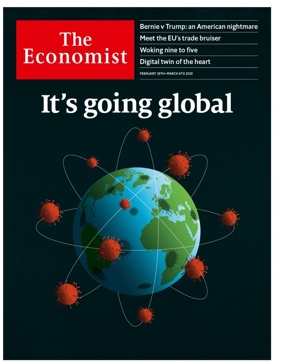 "Bryan Druzin on Twitter: ""The Economist covers have an uncanny ..."