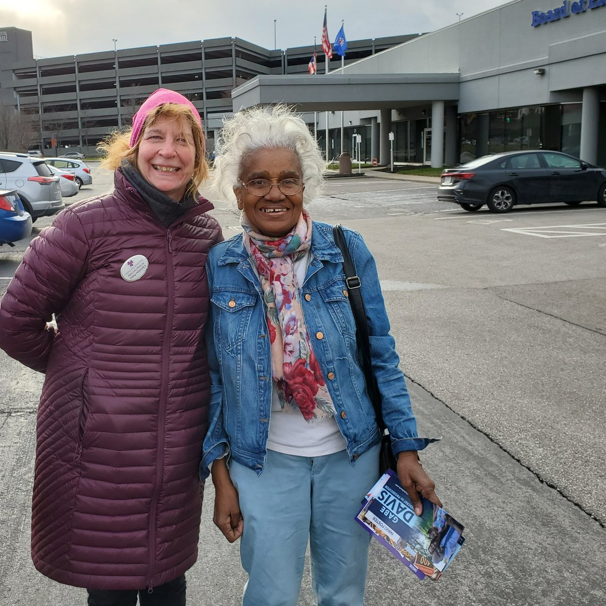 Seeing Roro at the Board of Elections warmed my heart on a cold day!  #theresanarmyrisingup #ilovemyfamily  #getoutandvote #patel4judgepic.twitter.com/PKB2BUFWgn – at Hamilton County Board Of Elections