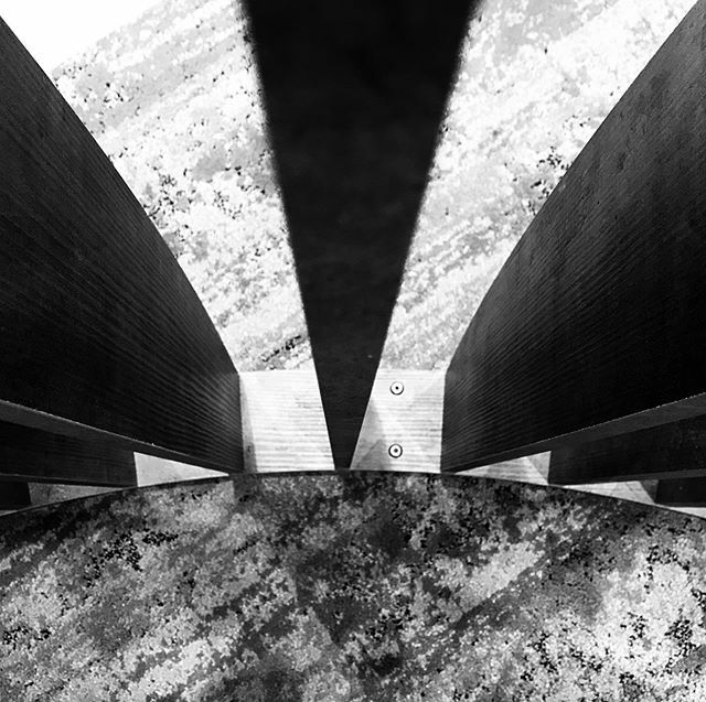 Looking Down #photography #blackandwhite #shapes #monochrome
