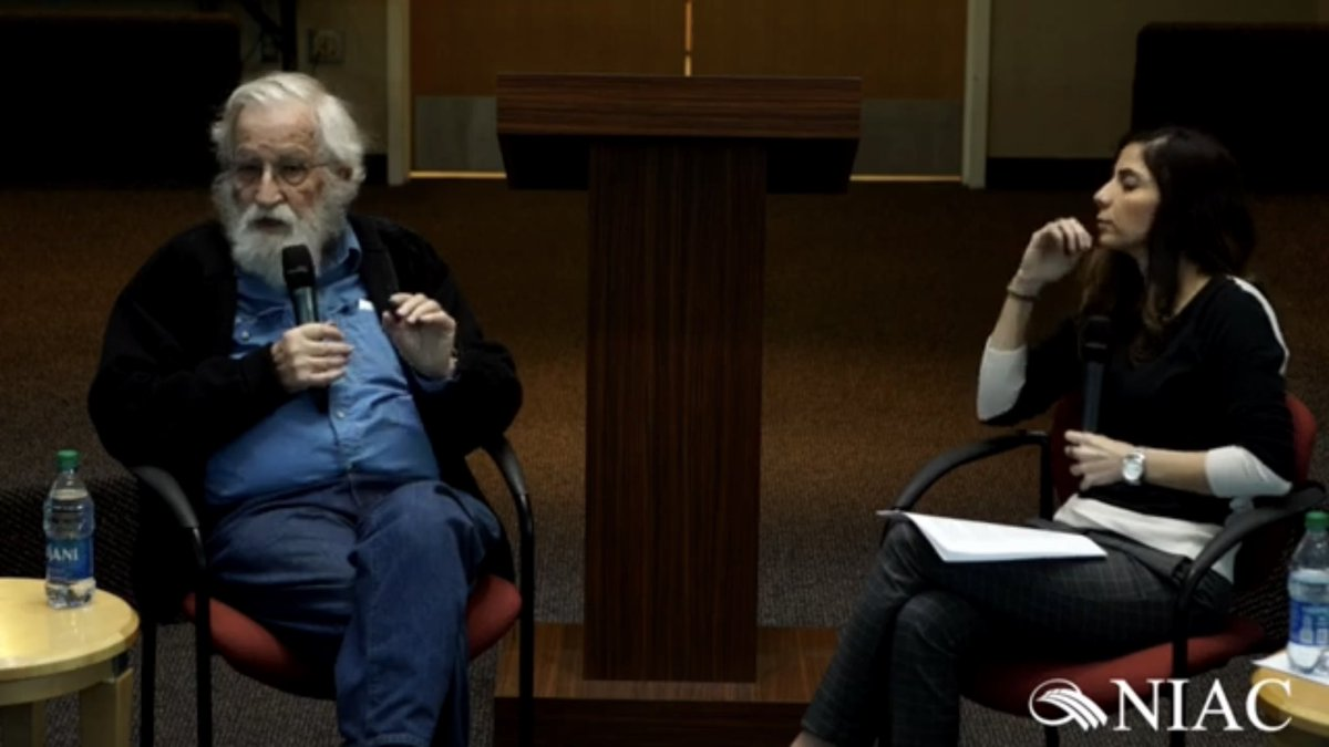NIAC in Conversation with Noam Chomsky at the University of Arizona   https://youtu.be/xOVuhgx0A0E  via @YouTubepic.twitter.com/otiYVdiOAx