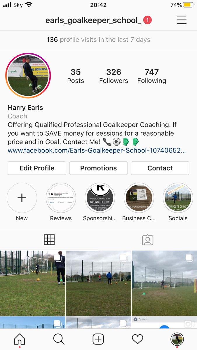 I'm on Instagram as earls_goalkeeper_school_  All Likes And Follows Are Much Appreciated!! …  #followshoutoutlikecomment #follow #shoutout #followme #comment #f4f #l4l #followback #shoutoutback #likeback #instagood #pleasefollow #pleaselike #follows #likes