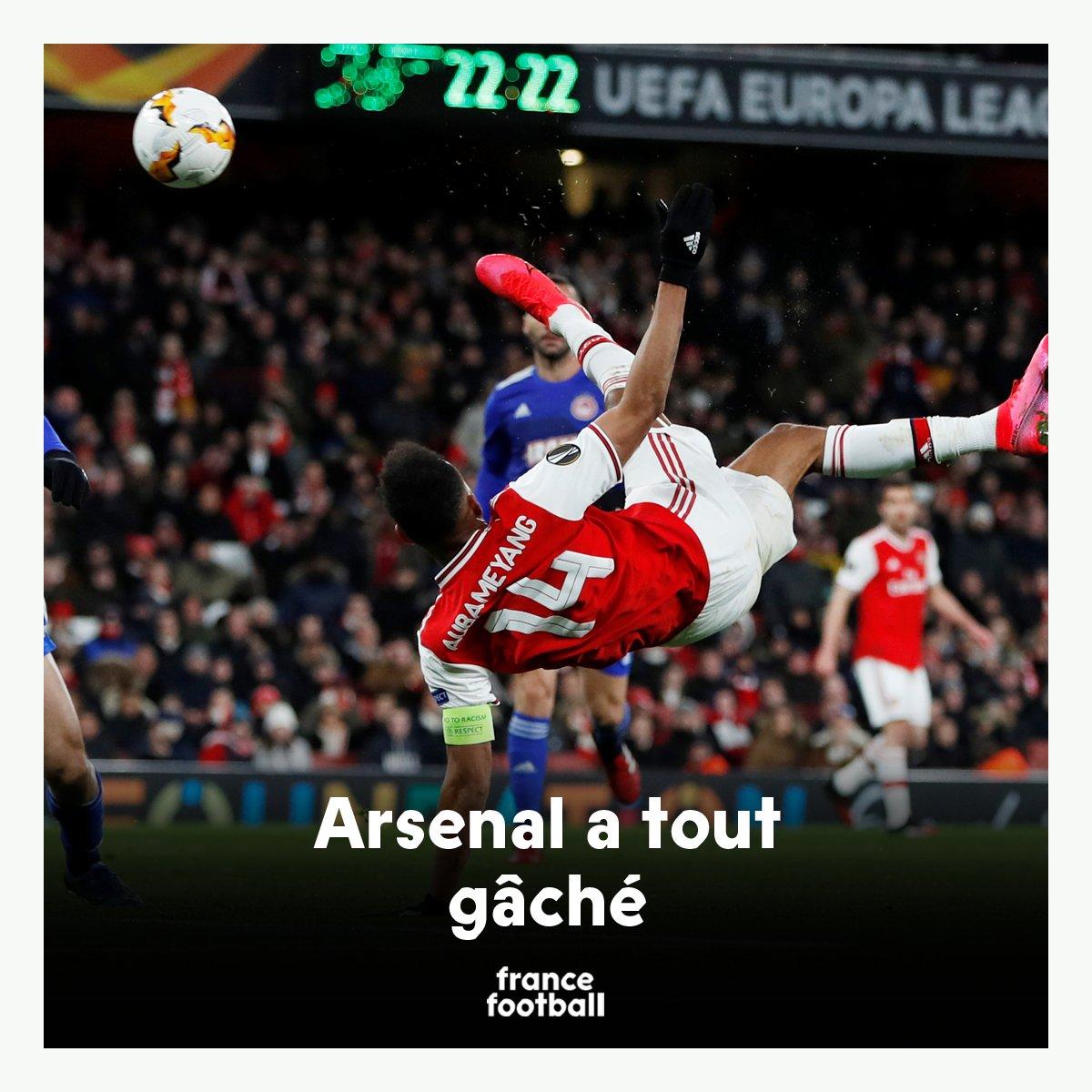 L'Ajax éliminé. Arsenal crucifié. L'Inter sans sourciller. ⚡️ Le meilleur de la soirée > bit.do/Europa21
