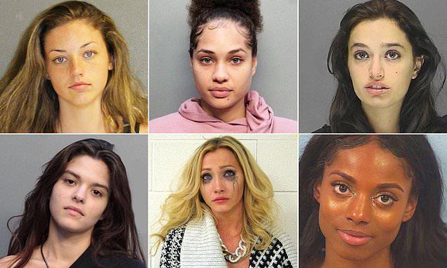 'Criminally hot' female offenders pose in mugshots  #news