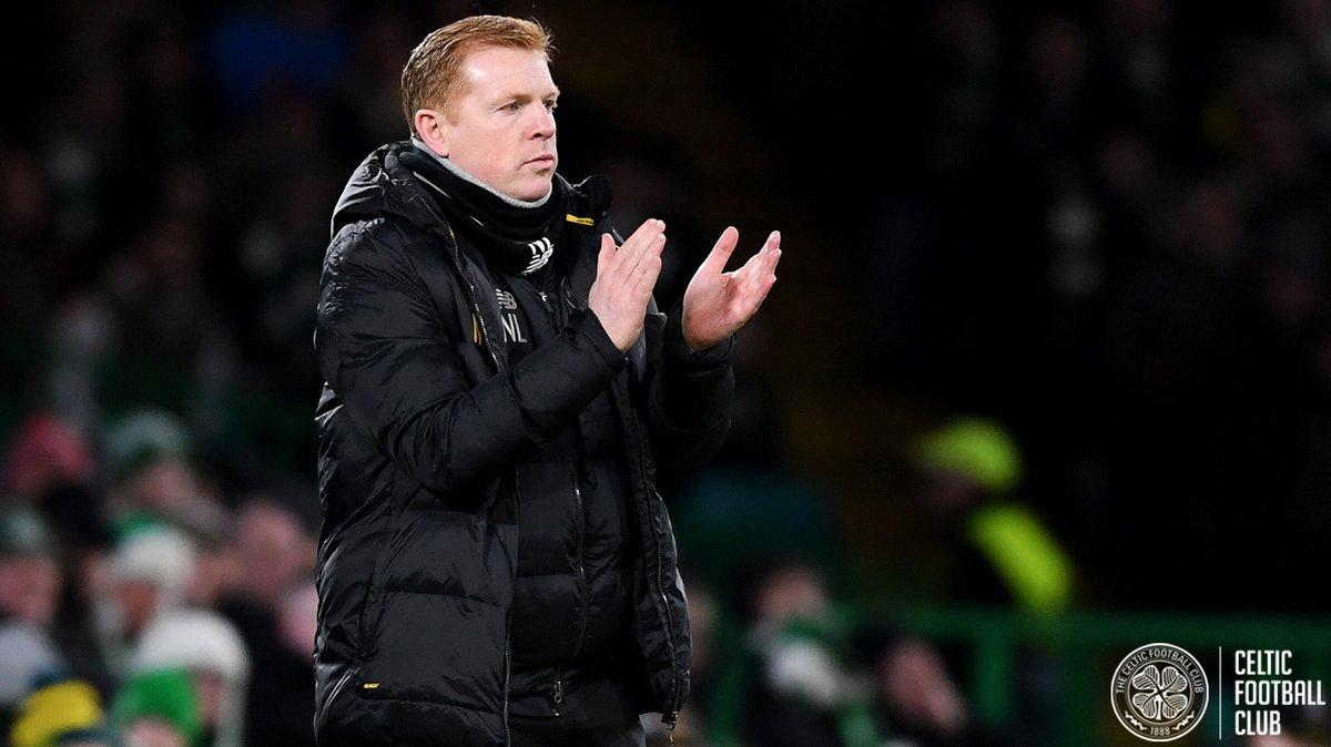 "🗣️ Neil Lennon: ""I'm hugely disappointed. We were in control in the first-half. We made a mistake that gave them encouragement and we shot ourselves in the foot for the second goal.""  #CELCOP #UEL"