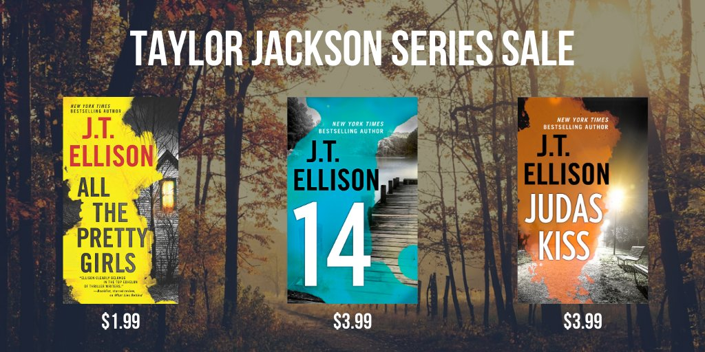 I love this series!!! If you love my Lucy Kincaid books you'll love Taylor Jackson.