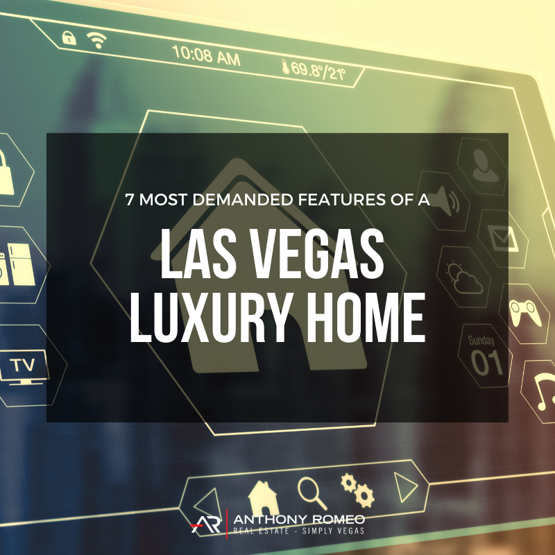 Las Vegas boasts some of the most luxurious homes in the country. What makes them so luxurious though?  Here are 7 of the most in-demand features that are bringing buyers closer to closing...    #lasvegas #luxuryrealestate #luxuryhomes #lifestyle
