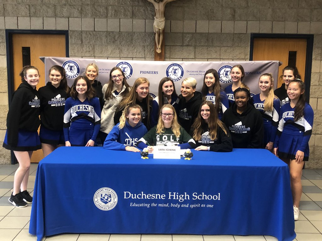 COMMITTED  @DuchesneHS senior @saraschenk__1. Welcome to the team Sara! @Athletics_DHS @golf_dhs @cmueagles @cmuniv #CentralVictory<br>http://pic.twitter.com/xt9kRcsFzL