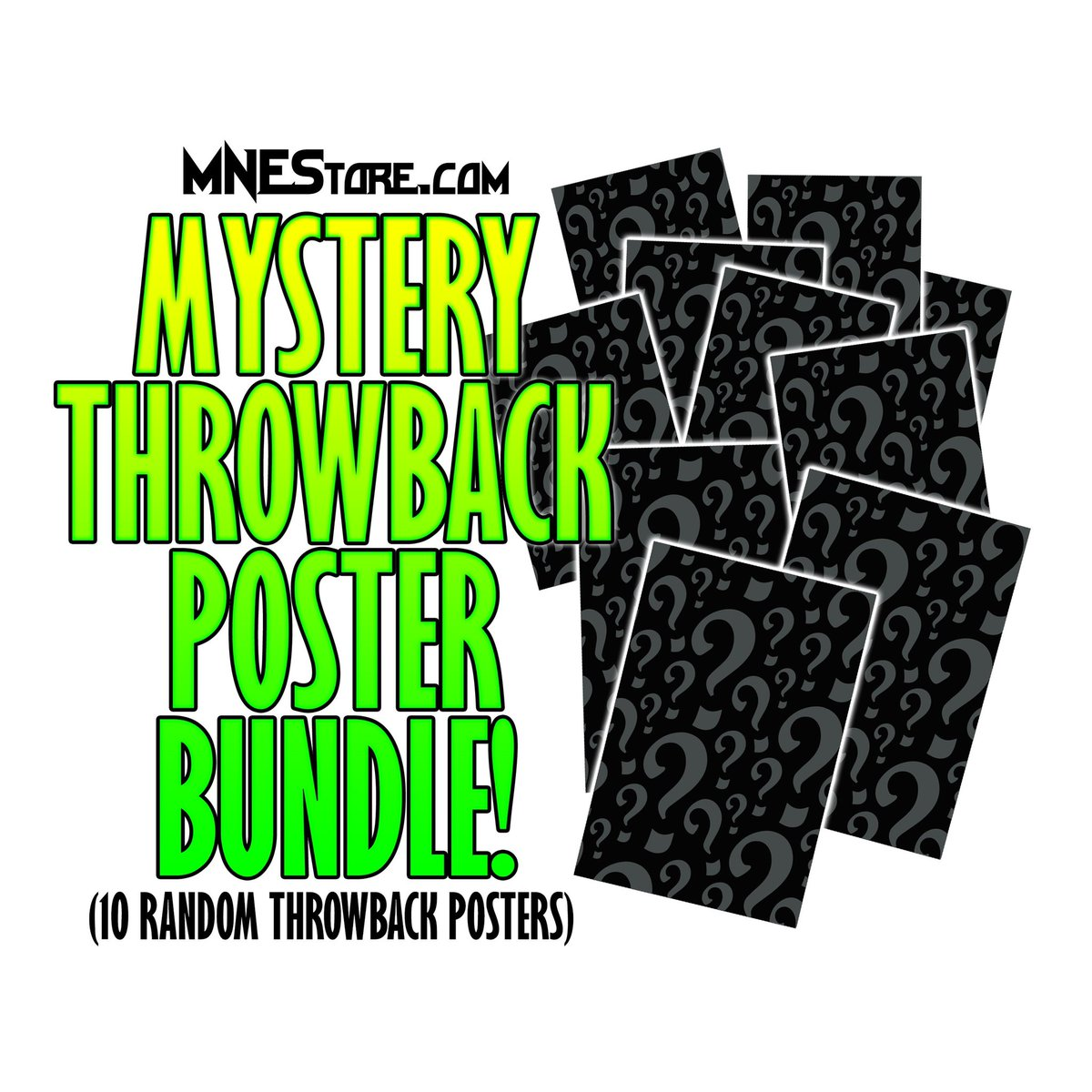 Hit up the link in bio 👆🏻for a mystery #throwbackthursday poster bundle 🤘🏻 #majikninjaentertainment #oldschool #mne2020 #juggalo