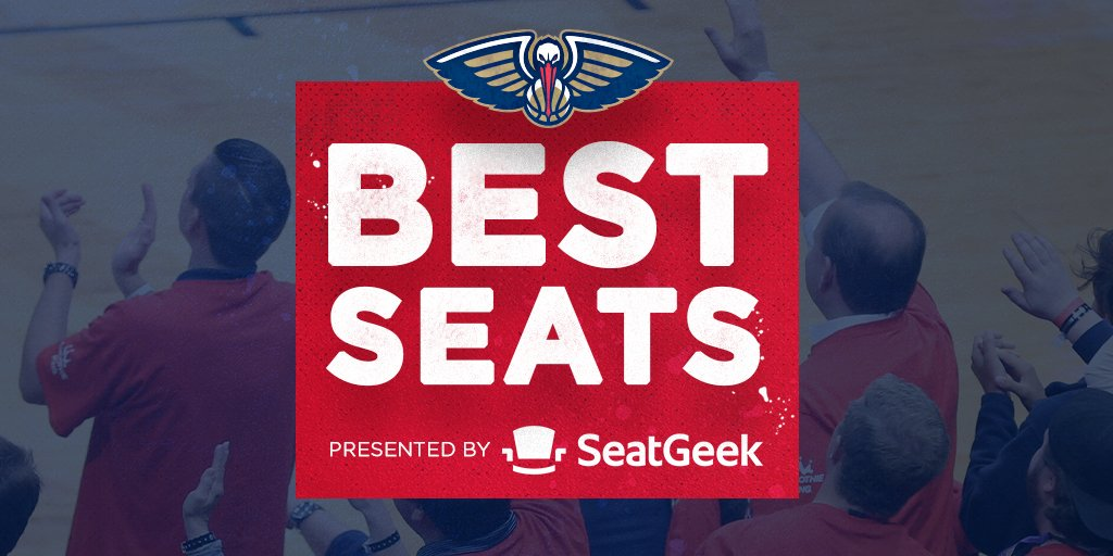 Snag two floor seats to watch the Pelicans face Atlanta on 3/16! 👀  Enter for your chance to win: