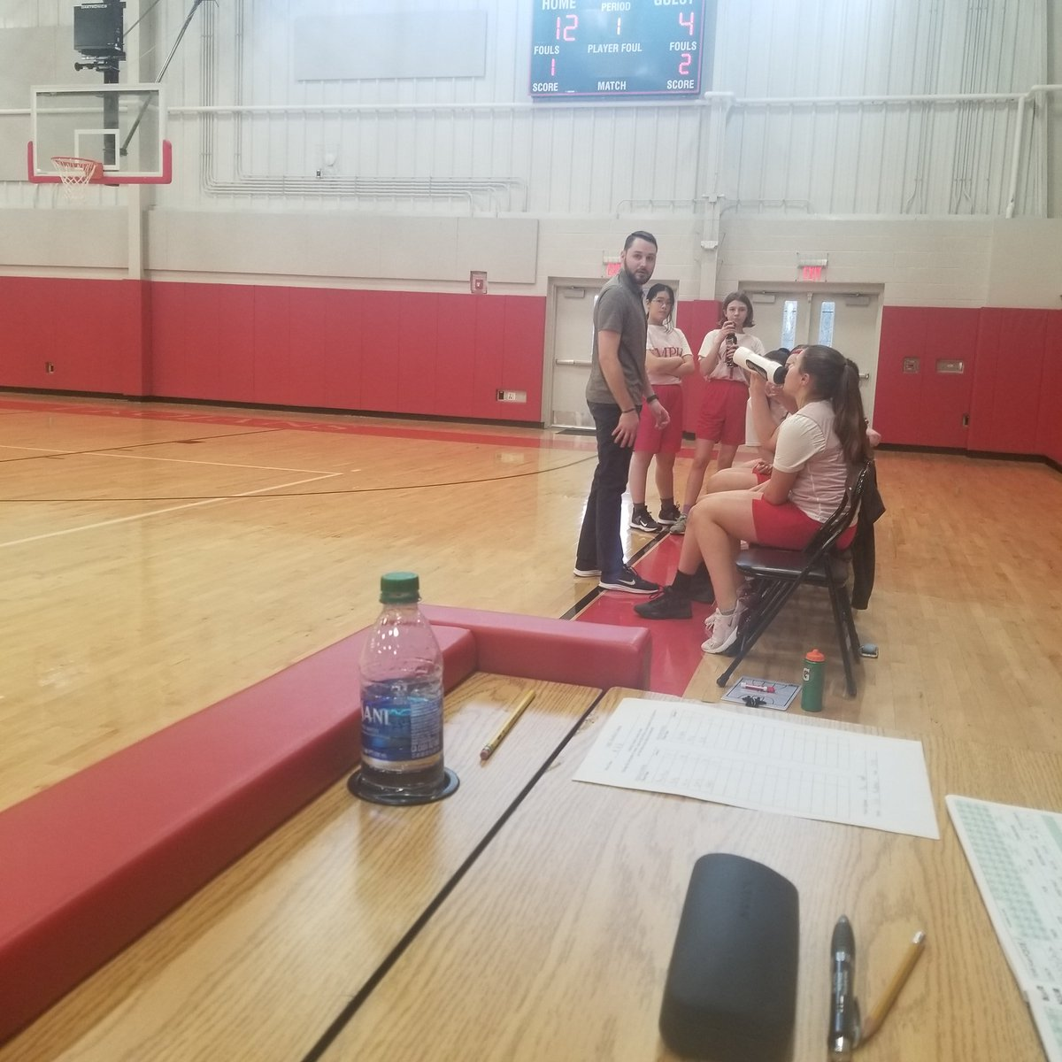 Great win by Coach Wright and the girls. The win brings their record to 5-0 on the season!! #GoMPH<br>http://pic.twitter.com/kQsmvVeNTY