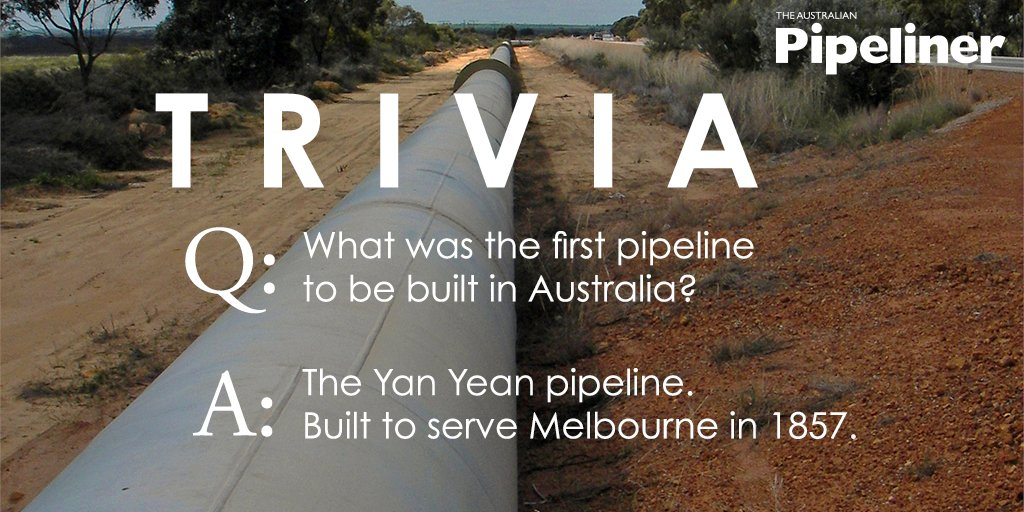 test Twitter Media - The answer is: the Yan Yean water pipeline, built in 1857 to serve the city of Melbourne. More info here: https://t.co/SaiORtfeHV  If you like this kind of content and have suggestions for other content, please react, share and comment on this post! https://t.co/Dl2EPbz5b2