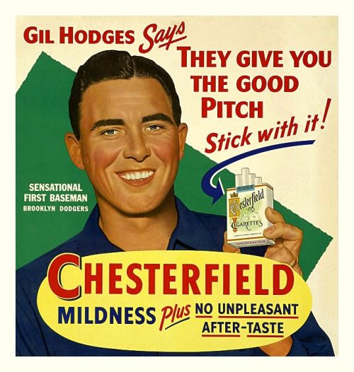 If Gil Hodges says to smoke then by gummy you should smoke.   #Dodgers