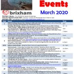 Image for the Tweet beginning: March events! PDF download available from