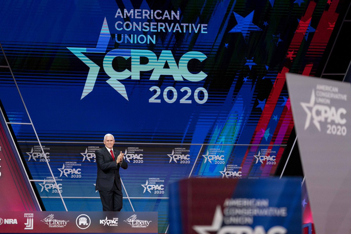 Thank you, @CPAC! It has been a historic three years under President @realDonaldTrump! America is stronger than ever before and we're just getting started! 🇺🇸