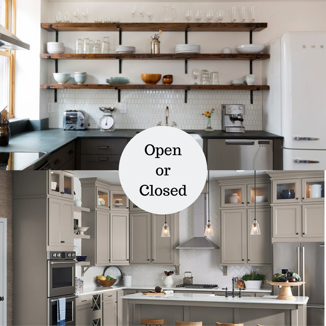 Which kitchen shelving style do you prefer? Open or Closed?<br>http://pic.twitter.com/ubhIKPKNVK