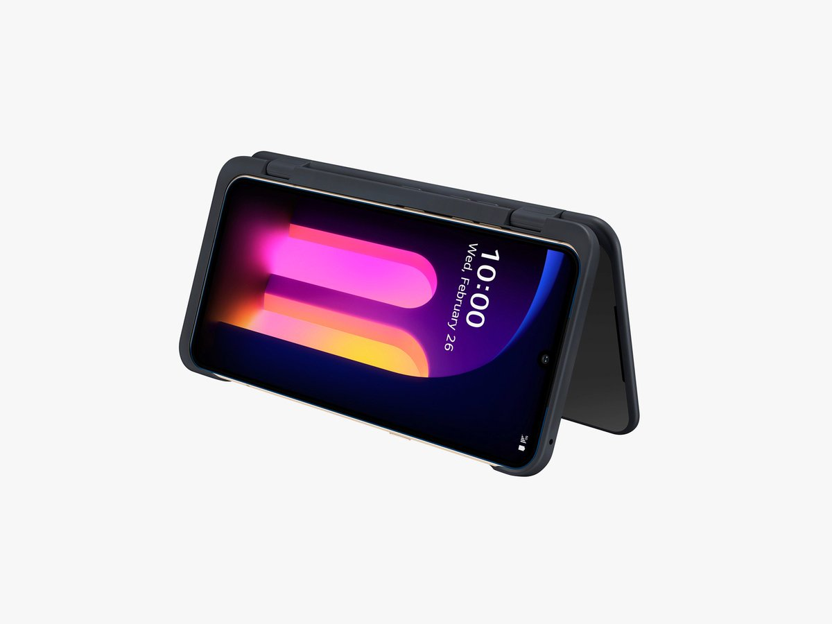 5G connectivity. 8K video recording. A design that folds. If you want these next-gen features but aren't feeling the four-figure price tags, you could try LG's new phone: the V60 ThinQ. Our review:  https:// wired.trib.al/aWkgqj5    <br>http://pic.twitter.com/l73UVsGFKq