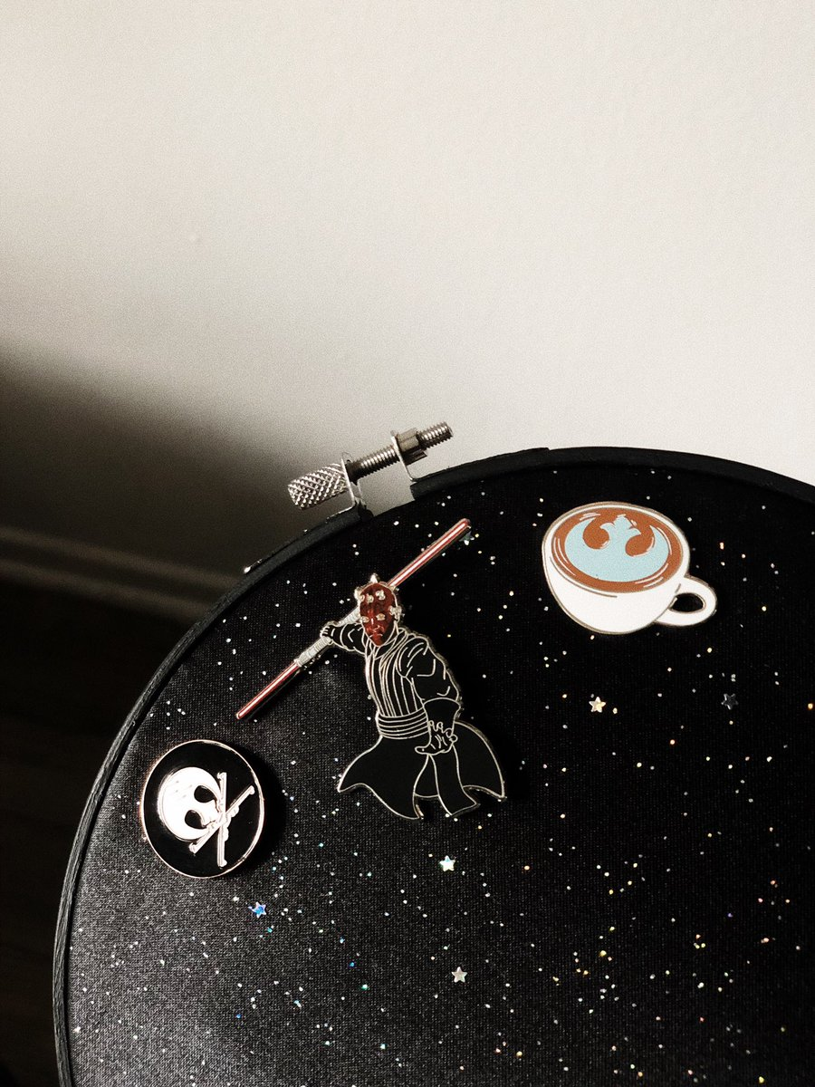RT @Margo_Von_Spook: I got a new pin display hoop and ready to add more Star Wars pins. ✨💫🪐 https://t.co/xus5SY6yPL