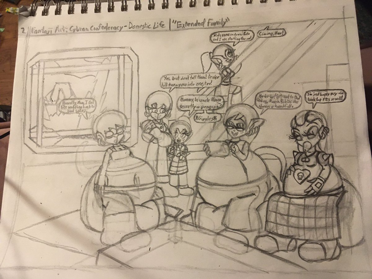 I just managed to finish sketching this scene. Feel free to share your thoughts. <3 #art #artist #sketch