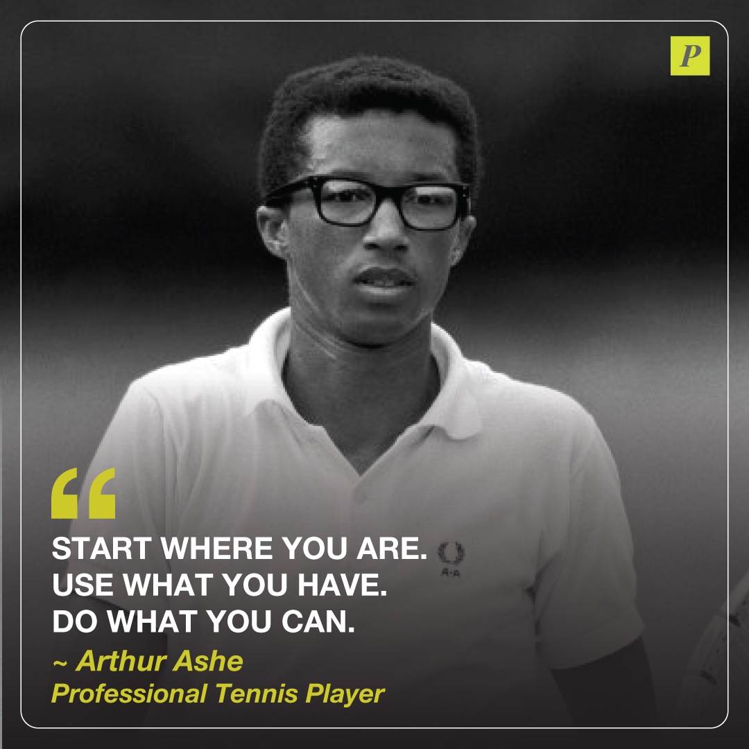 Fact for #BlackHistoryMonth -Legendary tennis player Arthur Ashe was the first black player selected to the United States Davis Cup team. He remains the only black man to have won the singles title at Wimbledon, the Australian Open and the US Open. pic.twitter.com/bOaSsoHQoM