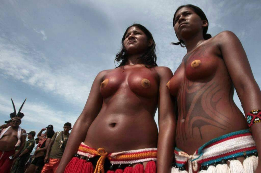 South african woman goes naked to embrace her culture with pride