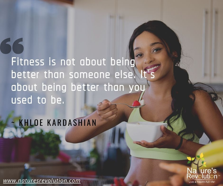 Fitness is not about being better than someone else. It's about being better than you used to be. #health #wellness #nutrition #naturesrevolution #weightloss #healthylifestyle #fitnessmotivation #healthyfood #fitness #workout #dietpic.twitter.com/LZoFAOqNrZ