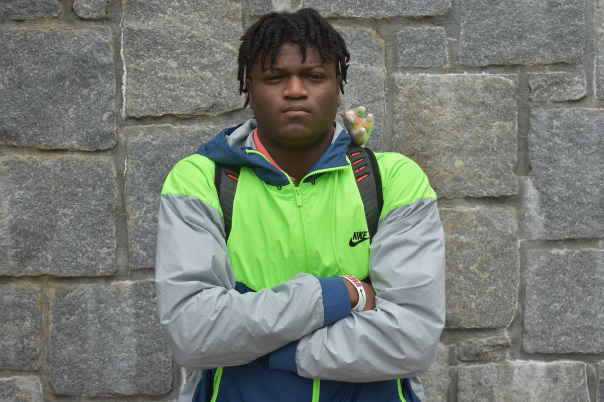 """""""For him to come down here just for me was pretty cool. It shows how they feel about me.""""  Rivals250 WR Jayden Thomas talks Brian Kelly's visit to his school and more.  https://notredame.rivals.com/news/brian-kelly-s-visit-meant-a-lot-to-rivals250-wr-jayden-thomas…pic.twitter.com/6CzW49raA4"""