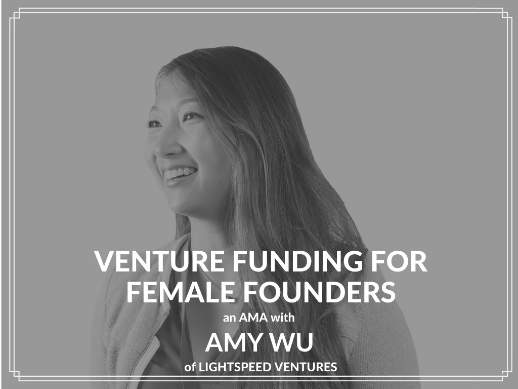 Are you a pre-seed stage #entrepreneur with #funding-related questions? Want to learn what it takes to raise #VentureCapital? Join our #AMA webinar #LIVE NOW with @LightspeedVP http://bit.ly/2PoPx1M   and get the answers to your burning #startup fundraising questions!pic.twitter.com/cUTSuiWqVu