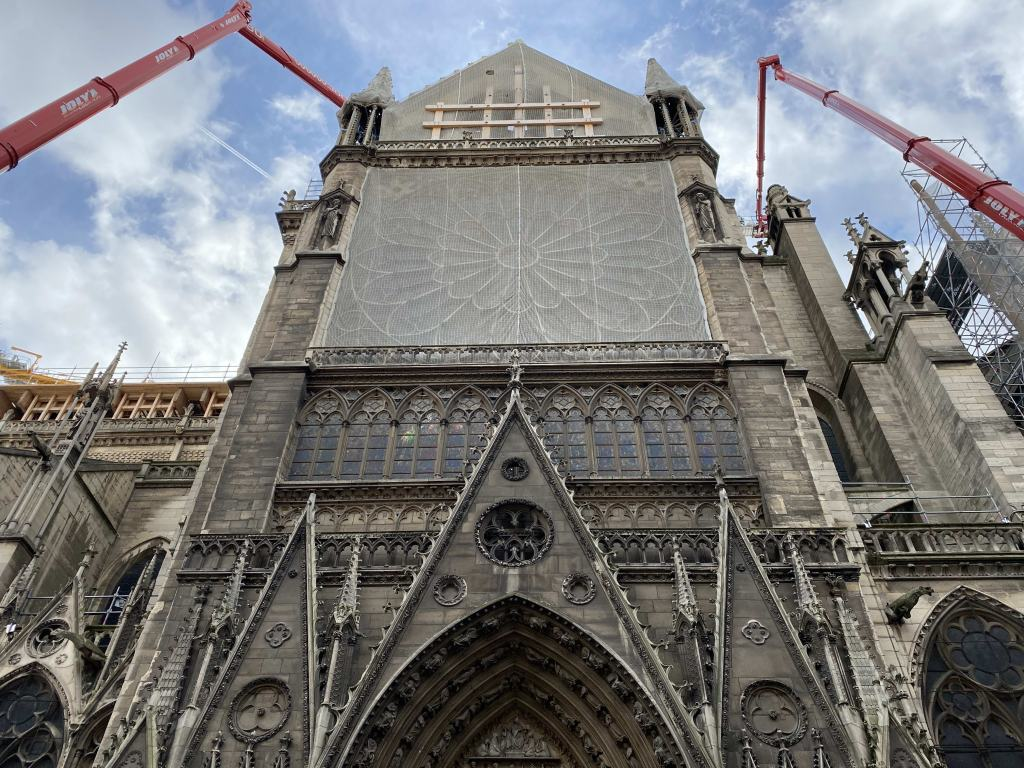Experts restoring Notre Dame Cathedral nearly a year after inferno graballnews.com/experts-restor…