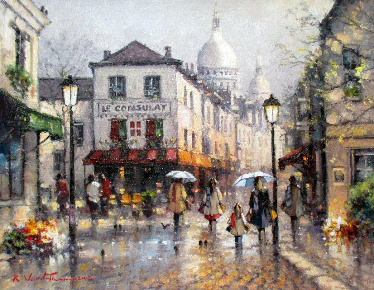 Bonjour de Paname  Ramon Ward-Thompson  Reflets de Montmartre   Paris