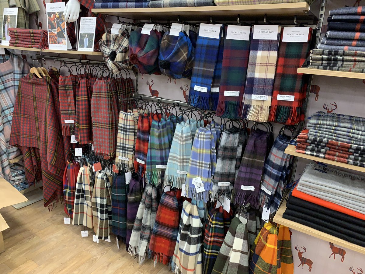 Duncan Macpherson On Twitter The New Edinburgh Woollen Mill Store Has Got Unique Inverness Tartan Designed Wallpaper With Images Of Highland Stags Gift Vouchers Will Be Hidden Among The Colourful Selection Of