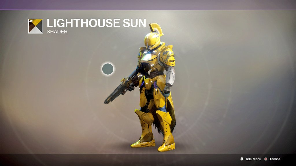 The new Lighthouse shader is hella yellow pic.twitter.com/aW2cdYCOXE