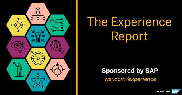 We're proud to announce The Experience Report, a new editorial of the @WSJ. Exclusively sponsored by SAP, this new digital news offering delivers insights and analysis on the ways that companies optimize data and tech to drive business and win in the... http://bit.ly/2VFvz6Xpic.twitter.com/sR788i8DZk