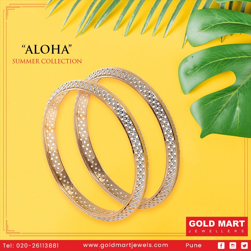 Find your summer sparkle from our latest collection, ALOHA. Visit our store and explore!  #Summer #SummerCollection #SummerJewellery #Diamond #Gold #Jewellery #Jeweller #Shopping #Lifestyle #Pune @sangeetagold