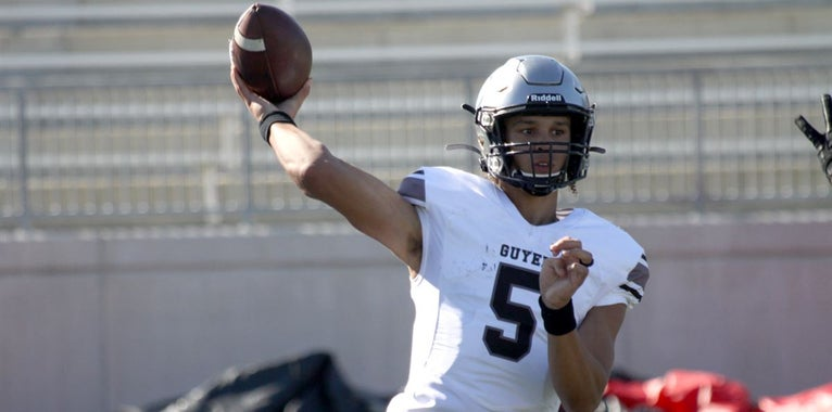 WATCH: 4-star A&M QB commit Eli Stowers' junior highlights. Stowers threw 36 touchdowns and ran for another 11 during his junior season.   https://247sports.com/college/texas-am/Article/WATCH-Texas-AM-quarterback-commit-Eli-Stowers-junior-highlights-144344155/…pic.twitter.com/FVWJ0V2EYG