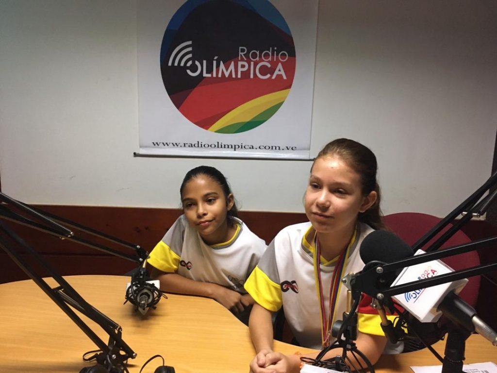 Anni Ramos y Fabiana Torres son dos campeonas infantiles de kumite y su máximo ídolo es Andrés Madera https://bit.ly/2PqrjnSpic.twitter.com/kGCpAg9RRG