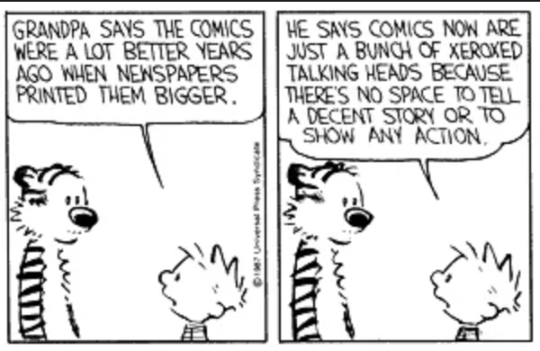 Talking Heads https://t.co/7jdcQ6NYbN Credit: Calvin and Hobbes https://t.co/QqeT4SeJiN