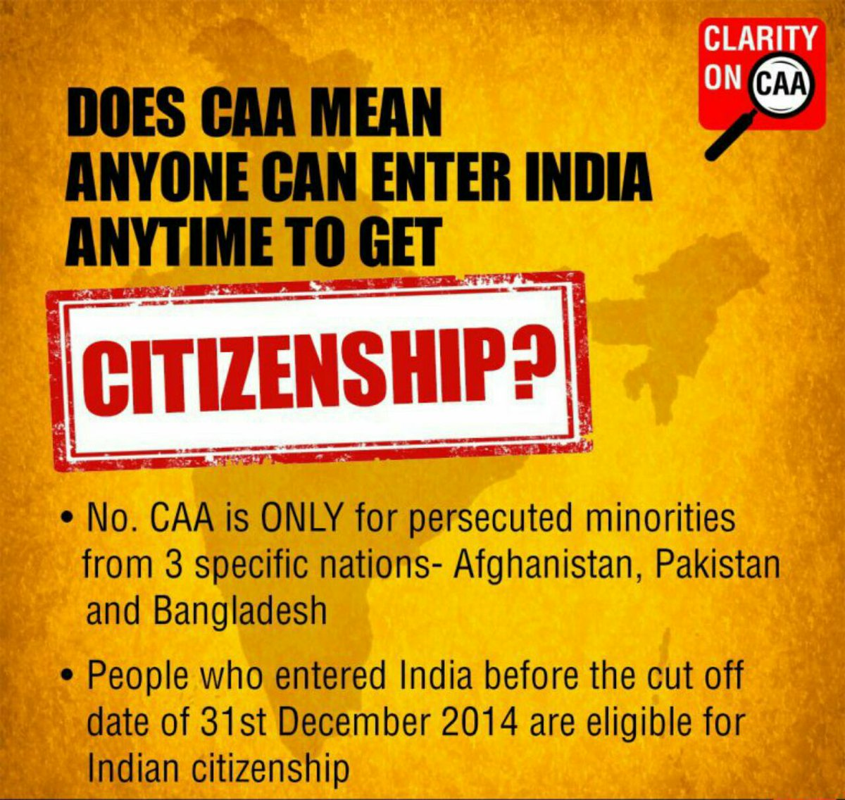 Those who  participate in protest, did they even try to know the actuality of CAA bill. Unknowingly, they r provoked by anti nationals. #PatrioticIndiansSupportCAA