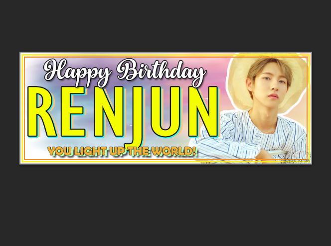 #NCTDREAMSHOWinMANILA   RENJUN BIRTHDAY BANNER GIVEAWAY   Hi guys,  KANTAHAN NAMAN NATIN SI RENJUN NG HAPPY BIRTHDAY!!!   Please spread~  RT and LIKE  Follow me, I follow back. I NEED MOOTS!   more details below: <br>http://pic.twitter.com/GxQhb6SvqF