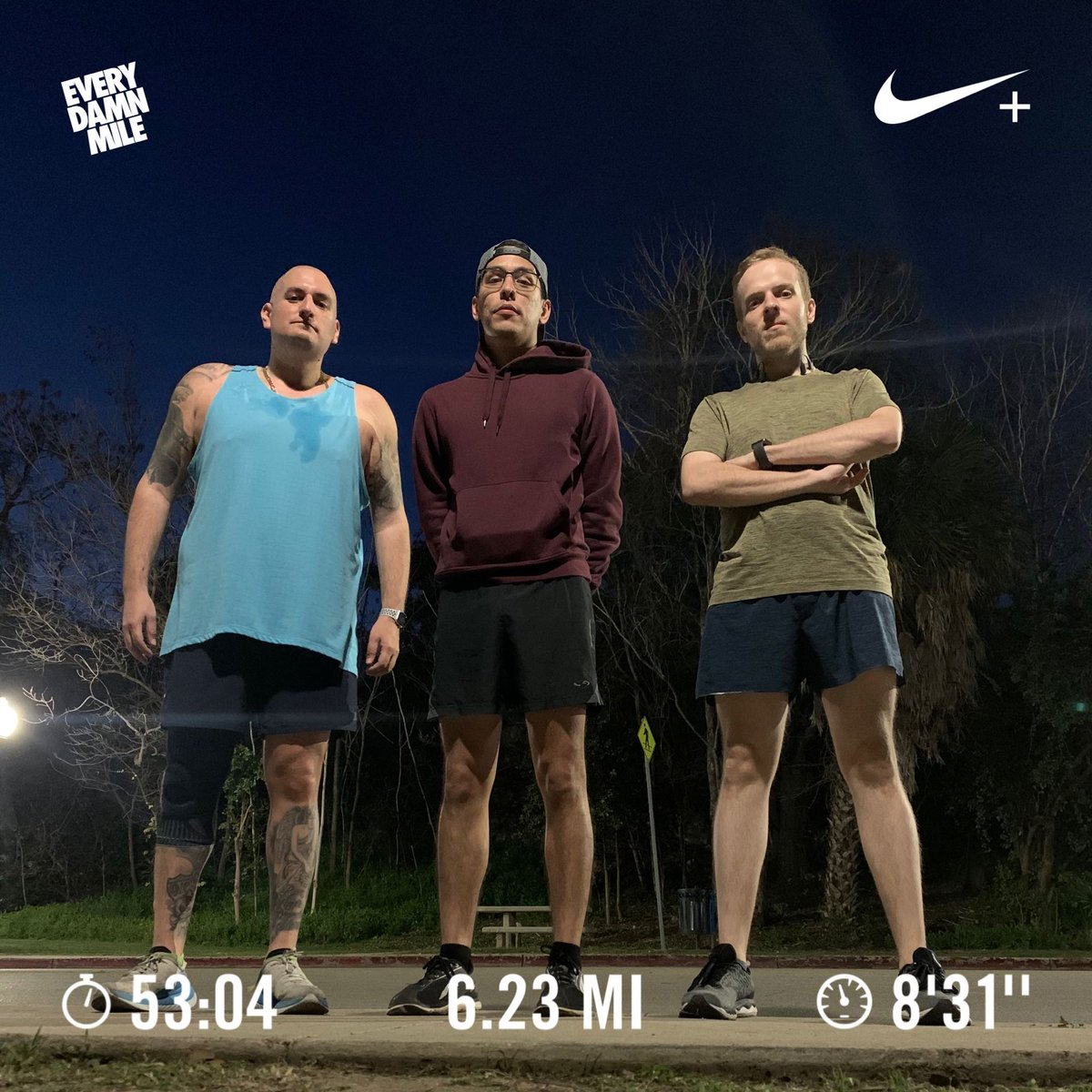 Ran 6.23 miles with Nike Run Club... 10k all week... had to be mentally discipline to get it done...  #hokaoneone #hokaoneonecarbonx #carbonx #carbonxtotheworld #nrc #nikerunclub #sanantonio #satx  #elhijodebarrio #mileaftermile #everydamnmile #dontstop  #sanantoniozoo #zoorunpic.twitter.com/hG64uvCAjZ