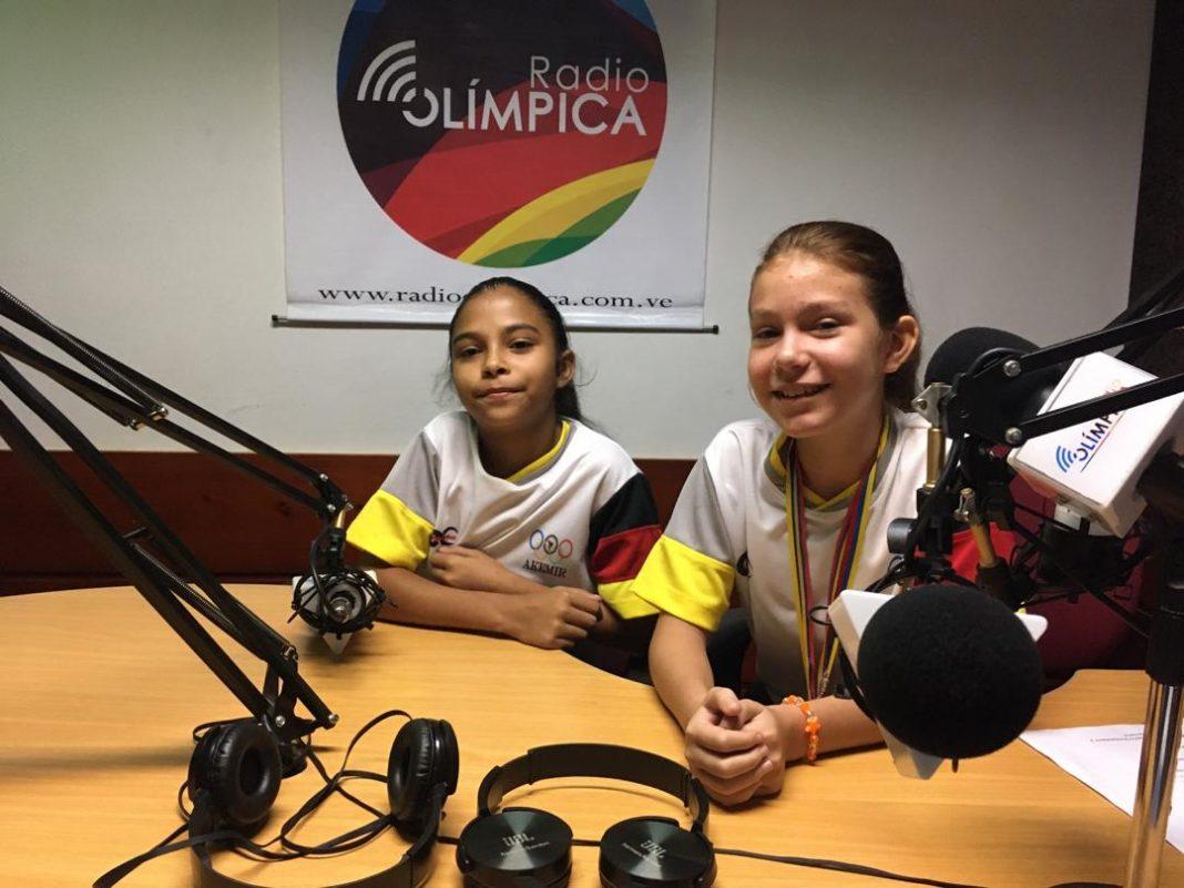 Anni Ramos y Fabiana Torres son dos campeonas infantiles de kumite y su máximo ídolo es Andrés Madera https://bit.ly/2PqrjnSpic.twitter.com/4rq5kibhtY