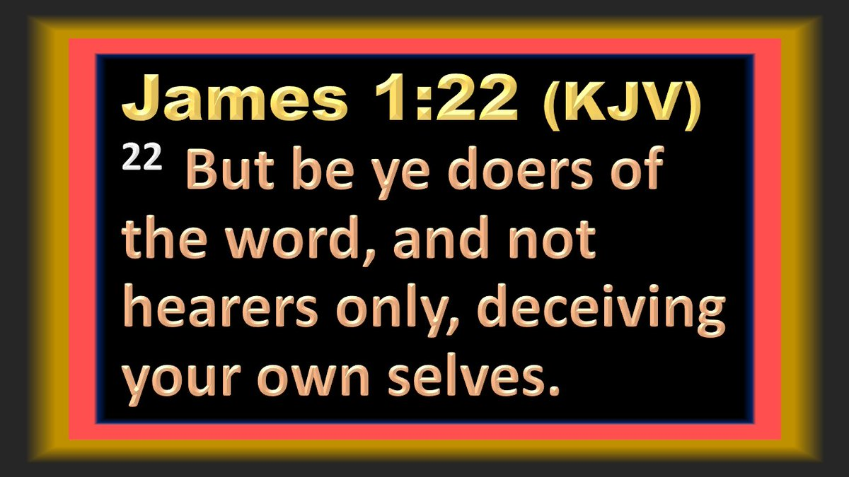 DON'T BE DECEIVED! Do what the WORD says, not what the world says!  James 2:20 (#KJV) But wilt thou know, O vain man, that faith without works is dead?  #Jesus #God #Word #Truth #Bible #FridayFeeling #FridayMotivation #FridayVibes #NYC #TGIFriday #FridayMorning #Faith #JustDoIt pic.twitter.com/f6x5E7VAPI